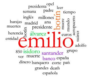 Emilio Botín, tags o etiquetas